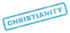 Christianity Rubber Stamp Stock Illustration