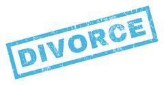 Divorce Rubber Stamp Piirros