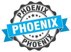 Phoenix round ribbon seal Piirros