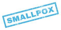 Smallpox Rubber Stamp Stock Illustration