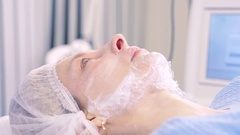 Modern Cosmetic laser equipment. The physician conducting the procedure for skin Arkistovideo
