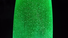 Mineral Water Sparkling With Bubbles Stock Footage