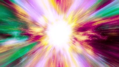 A Supernova bursts light - Space Travel 2219 Stock Video Stock Footage