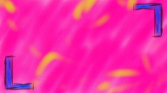Crayon Drawn Animated Background Loop - Pink Stock Footage