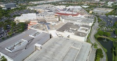 Expansion of Aventura Mall sped up Stock Footage