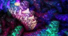 Interwoven strands of fabric Stock Illustration