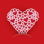 Vector valentines day vector background Stock Illustration
