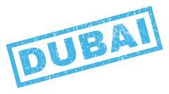 Dubai Rubber Stamp Piirros
