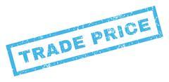 Trade Price Rubber Stamp Stock Illustration