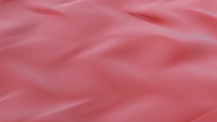 Abstract Red swirling liquid cloth motion seamless background Stock Footage