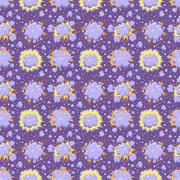 Boom icons seamless pattern explosion Stock Illustration