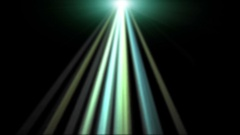 Green UFO Rays on Black Background -   Abstract   Video Footage Stock Footage