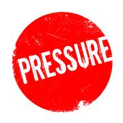 Pressure rubber stamp Stock Illustration