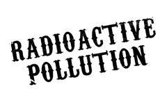 Radioactive Pollution rubber stamp Piirros
