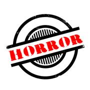 Horror rubber stamp Piirros