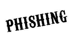 Phishing rubber stamp Stock Illustration