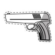 Weapon  icon image Stock Illustration