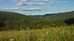 Southern Ural - view on the mountains - Southern Ural - daytime Stock Footage