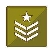 Army related  icons image Stock Illustration