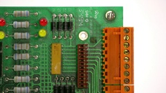 Electronic Control Board Stock Footage