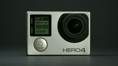 GoPro hero 4 silver Stock Footage