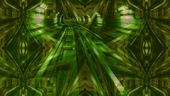 Metro subway of Turin with dark tunnel and fast moving lights, kaleidoscope Stock Footage