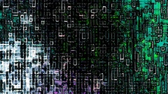 Colored Noise Digital Grunge Glitch Video Damage Stock Footage