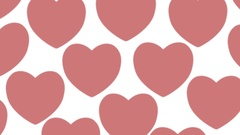 Big heart from small hearts Stock Footage