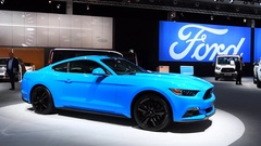 Ford Mustang Fastback sports car Stock Footage
