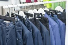 Fashion clothing on hangers Kuvituskuvat