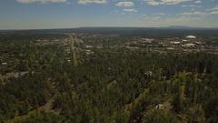 Aerial Arizona Flagstaff September 2016 4k Stock Footage