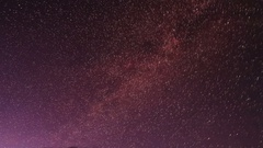 Starry Night over the valley of the Tolbo, Mongolia. Full HD Stock Footage