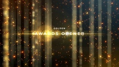 Golden Awards 4K Event Pack Stock After Effects