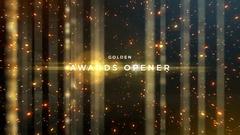 Golden Awards 4K Event Pack Kuvapankki erikoistehosteet