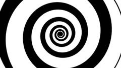 Hypnotic spiral modern fast Stock Footage