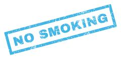 No Smoking Rubber Stamp Stock Illustration