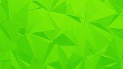 Green Corporate Polygonal Background Stock Footage