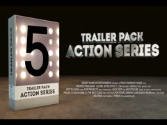 Cinematic Trailer Pack 5 in 1 Stock After Effects
