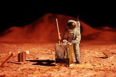 Astronaut on mars Kuvituskuvat
