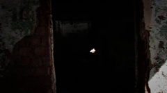 Slums, abandoned buildings 2 Stock Footage