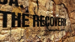 Recovery grunge concept Stock Footage