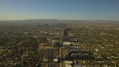 Aerial Arizona Phoenix September 2016 4K Stock Footage