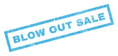 Blow Out Sale Rubber Stamp Stock Illustration