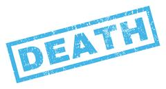 Death Rubber Stamp Stock Illustration