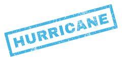 Hurricane Rubber Stamp Stock Illustration
