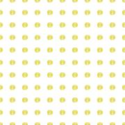 Gold Painted Marker Dots Seamless Pattern Stock Illustration