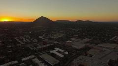 Aerial Arizona Scottsdale September 2016 4K Stock Footage