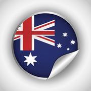 Australia related image Stock Illustration