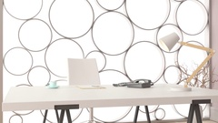 Interior of modern office Stock Footage