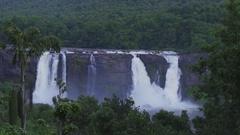 Rain forst waterfall Stock Footage